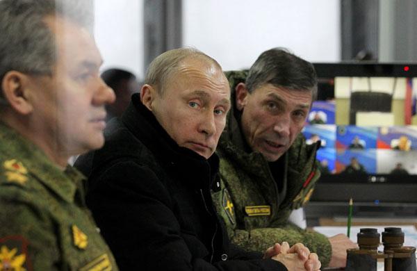 รัสเซียยันยังถล่มไอซิสชายแดนซีเรีย-ตุรกี ติดขีปนาวุธพิสัยไกลเผด็จศึกคนแทงข้างหลัง