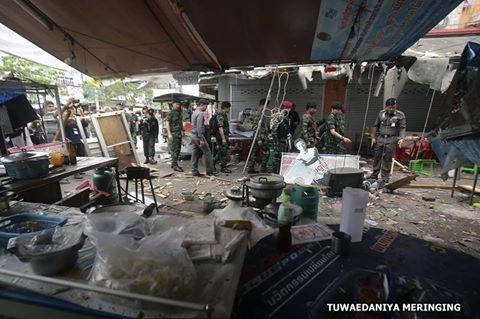 กอ.รมน.ชี้เหตุระเบิดที่ตลาดโต้รุ่งปัตตานี
